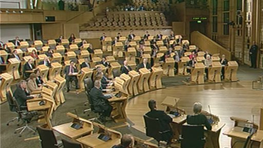 MSPs pass the amended motion from the Remploy debate.
