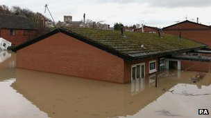 Rooftops, St Asaph 2012