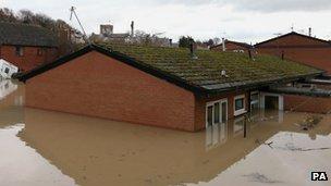 Rooftops, St Asaph 2012