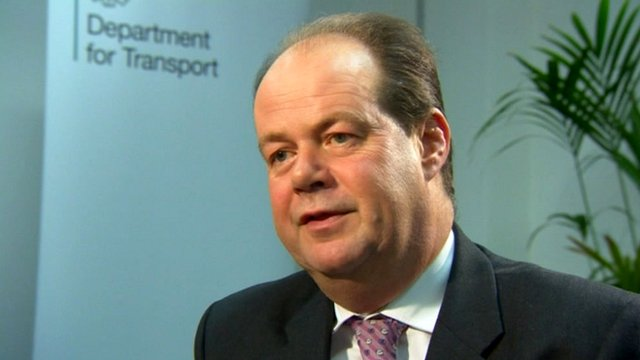 Transport Minister Stephen Hammond