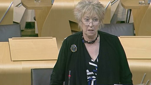 SNP MSP Christine Grahame