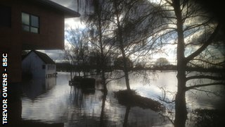 The deep end at New Road (behind the Graeme Hick Pavilion)