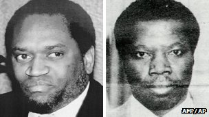 Burundian presidents Ndadaye and Ntaryamira