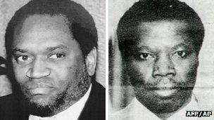Burundian presidents Ndadaye and Ntaryamira