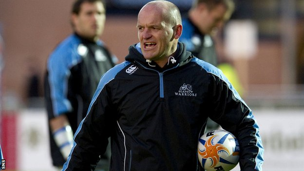 Glasgow head coach Gregor Townsend