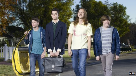 The Inbetweeners US cast
