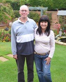 John and Anita Thompson at home
