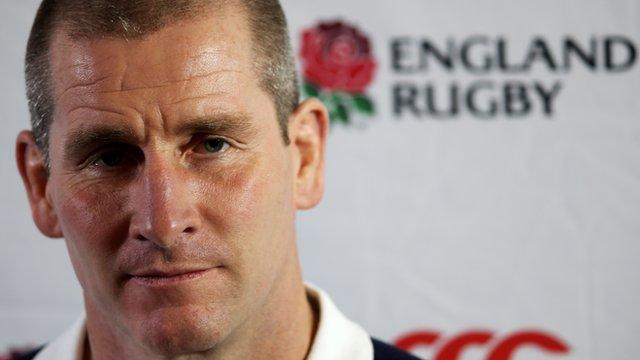 England Head Coach, Stuart Lancaster