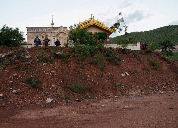 Monywa Mine Pagoda