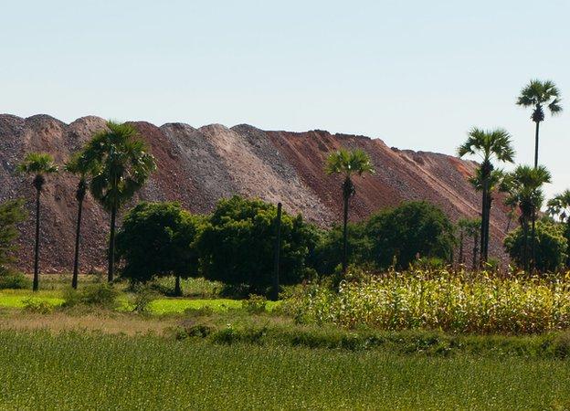 Monywa Mine Tailings