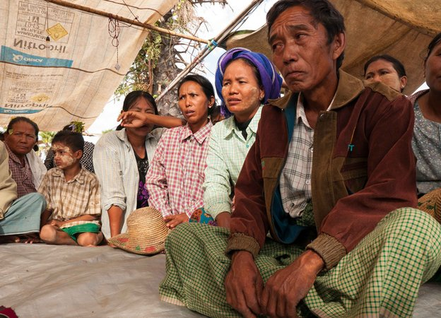 Monywa Mine Farmer Protestors