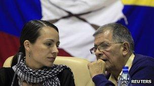 Farc negotiators in Cuba. Photo: 29 November 2012