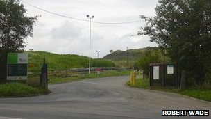 Whinney Hill Road landfill site