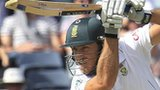 Faf du Plessis drives for South Africa