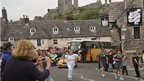 The Torch Relay passes through Corfe Castle