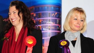 Sarah Champion and Jane Collins