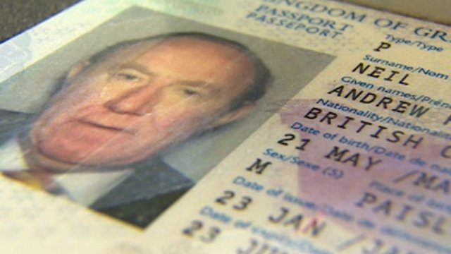 Andrew Neil&#039;s passport