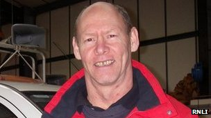 Vaughan Lawson. Pic: RNLI