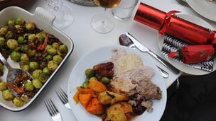 Christmas dinner