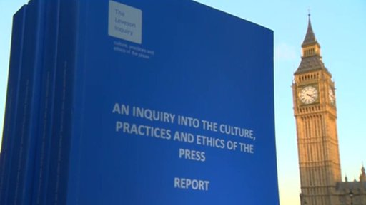 Leveson report and Parliament