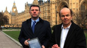 Gerry McCann and Christopher Jeffries
