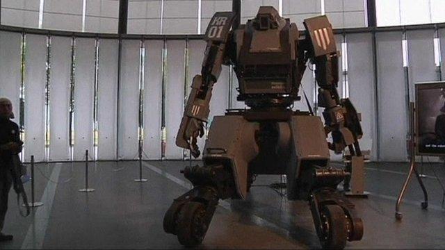 The Kuratas robot
