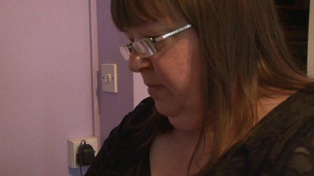 Tina Heron at her home in Barnsley