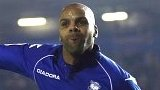 Marlon King celebrates for Birmingham