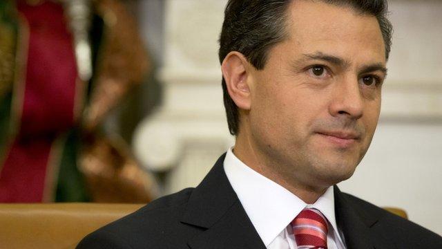 Mexico's President-elect Enrique Pena Nieto