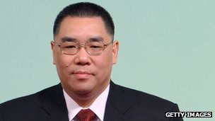 Macau's chief executive Fernando Chui