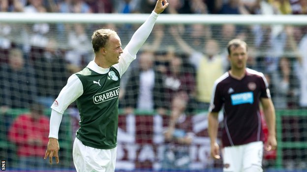 Hibs host Hearts in the Scottish Cup on Sunday