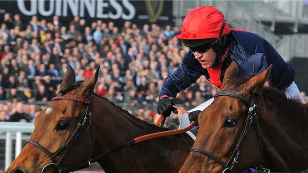 Barry Geraghty riding Bobs Worth