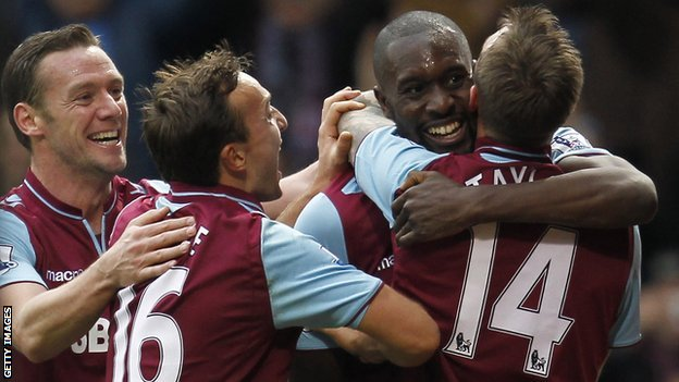 West Ham celebrate