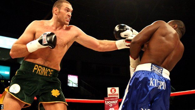 Tyson Fury vs Kevin Johnson