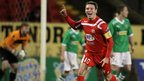 Kevin Braniff scored two goals against Cliftonville but his Portadown side had to settle for a point as the Premiership leaders twice came from behind to earn a 3-3 draw