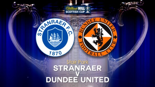 Highlights - Stranraer 0-5 Dundee United