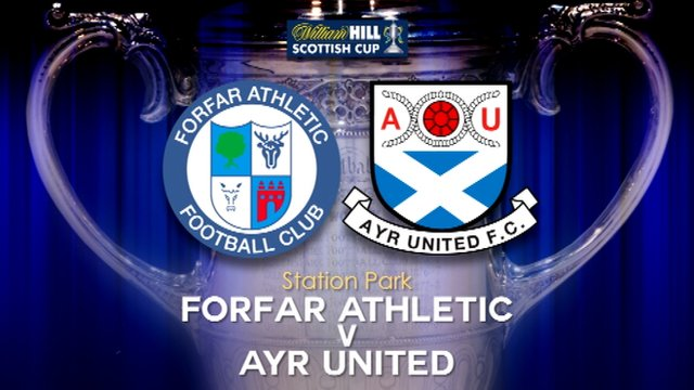 Highlights - Forfar Ath 2-1 Ayr Utd