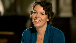 Olivia Colman in Rev
