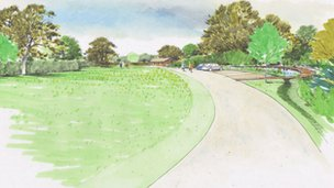 Remembrance park plans