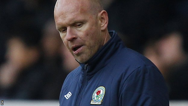 Blackburn boss Henning Berg