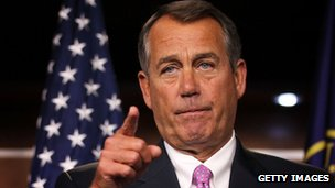 House Speaker John Boehner 30 November 2012