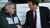 Dave Jones and Malky MacKay