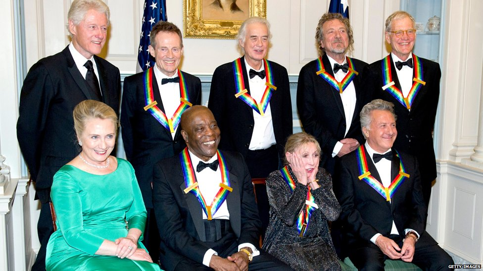 Recipients of the 2012 Kennedy Center Honours
