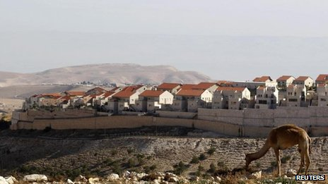 The E1 area overlooking the Jewish settlement of Maaleh Adumim, 1 Dec