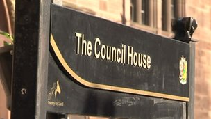 Council house in Coventry