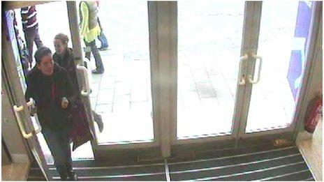 Suspected shoplifters