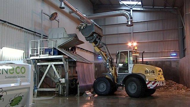 Food waste plant at Avonmouth, Bristol