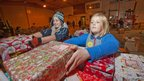 Samaritans Purse Operation Christmas Child operation. Picture: Peter Lopeman