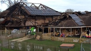Toad Hall Nursery fire