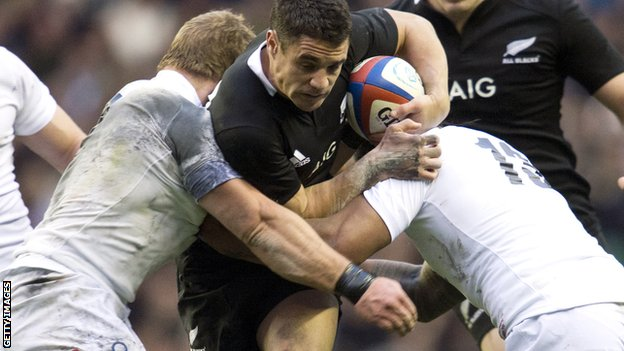 Dan Carter against England